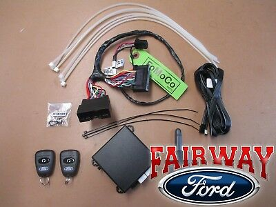2016 Focus OEM Genuine Ford Scalable Security Alarm System Kit with Auto Temp
