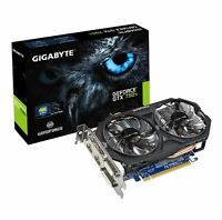 Gigabyte NVIDIA GeForce GTX 750 Ti 2GB GDDR5 Graphics Card PCI Express 3.0 HDMI
