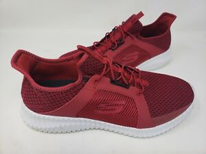 91250fad704f NEW! Skechers Men s ELITE FLEX Walking Shoes Red Black  52640 146H ...