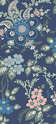 LIBERTY FABRIC Hesketh House Patchwork Fabric FIRESIDE BLUE//PINK  04775651X SALE