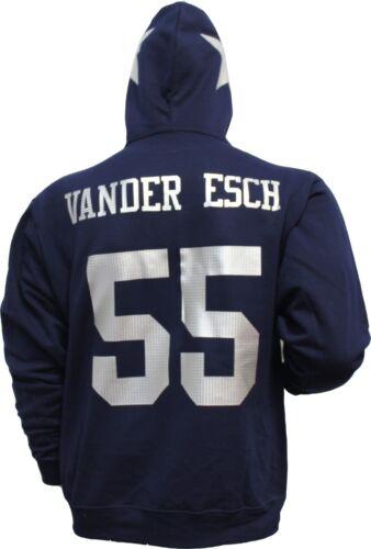 Vander nombre plateada con cualquier Sudadera para azul hombre leighton Esch jersey capucha 6zOwUqS