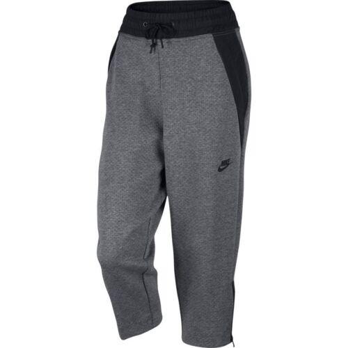 voor Pack dames sportkleding grijs Tech Nike Capri Fleece qpwaFPx