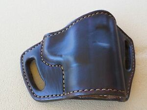 Brown Leather Gun Holster for Smith /& Wesson M/&P Shield 45