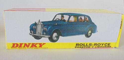 Repro box Dinky nº 152 Rolls Royce Phantom V