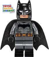 Lego Batman Minifigure Minifig From 76045 Superman Clash Dark Grey Suit