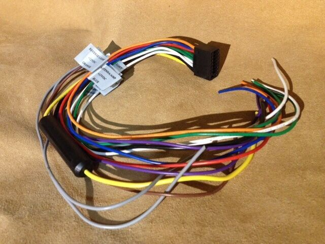Vr3 Vrvd630x Car Stereo Dvd Player Wiring Harness For Sale Online Ebay