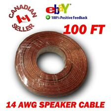 100 FT 30m High Definition 14 Gauge 14 AWG Speaker Wire Cable Home Theater HDTV