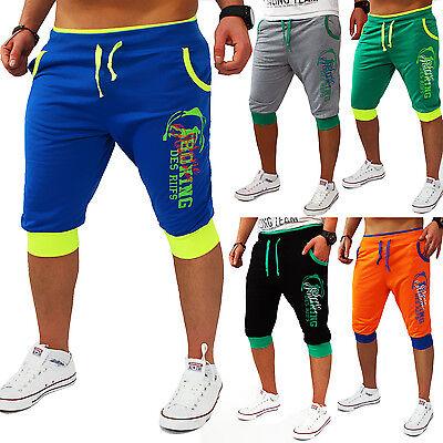 Men Women Capri Shorts Bermuda 3/4 Short Summer Swimming Beach Pants New