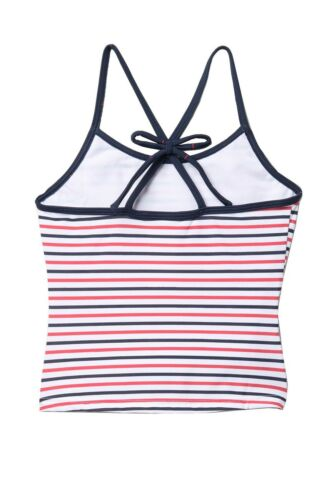 Roxy Little Girl/'s 2 Pc Chasing Love Tankini Swimsuit Red White Blue 4//5//6 NWT