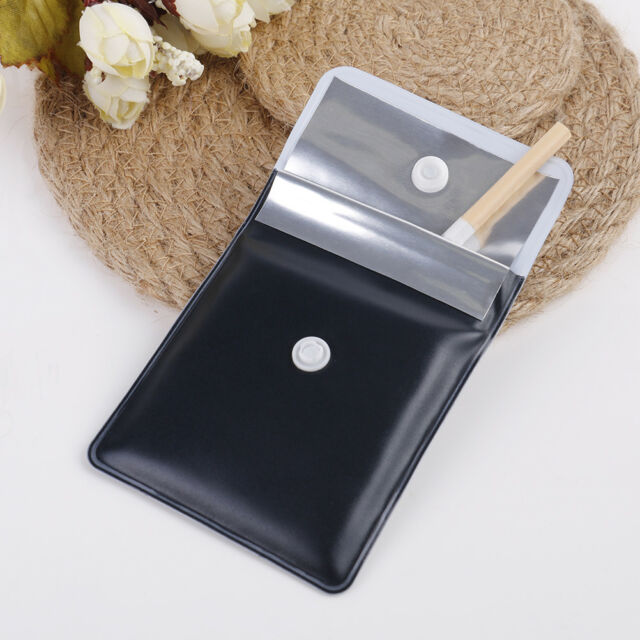PVC Mini Ashtrays Bag Potable Pocket Ashtray Cigar Ashtray Smoking Tray Fad  HQ