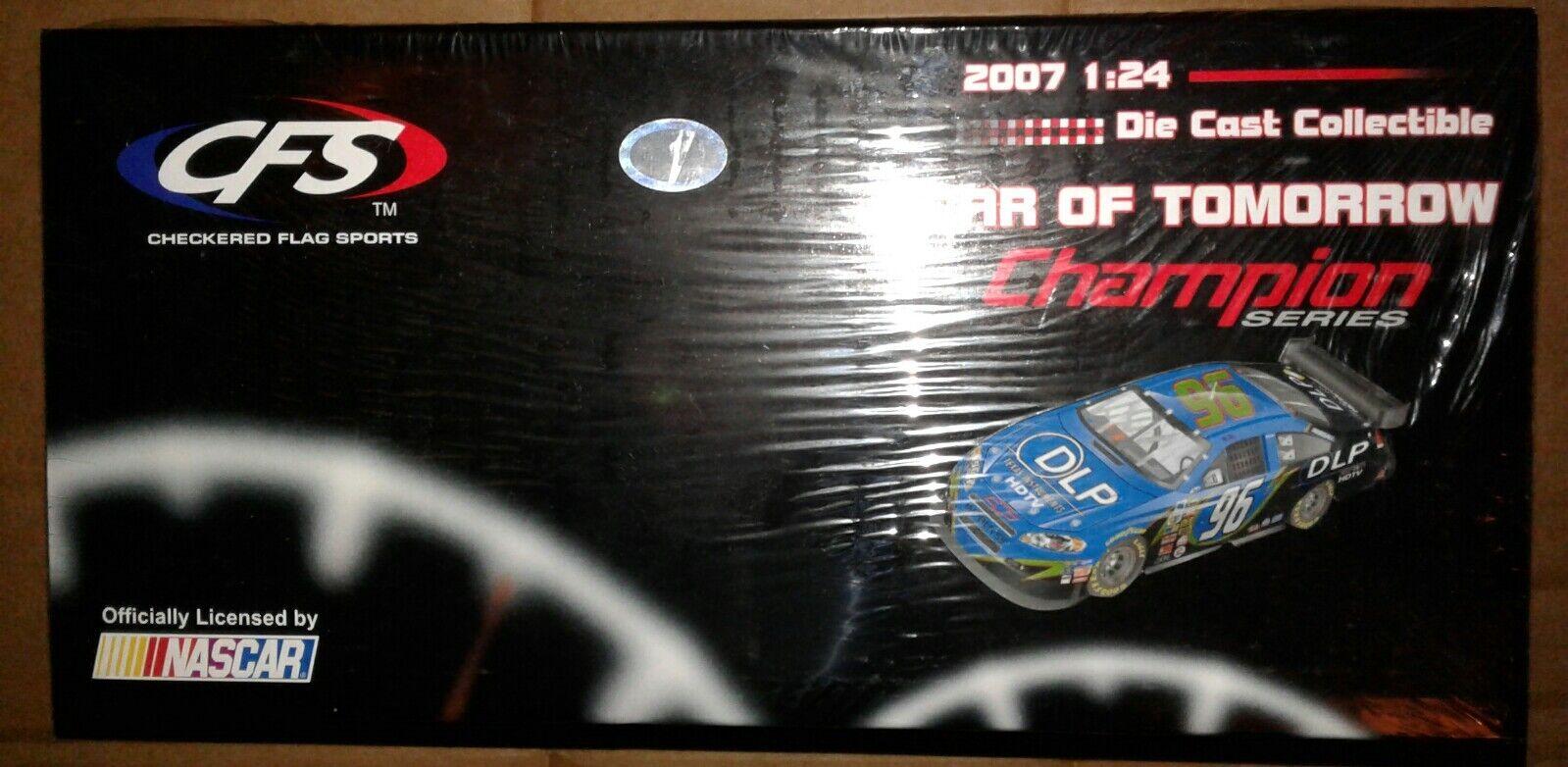 2007 Tony Raines CFS 1 24 NASvoiture  Diecast bébé voiture de demain drapeau à damier Neuf  meilleure vente