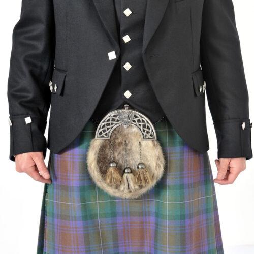 Scottish Isle of Sky tartan plissée à ensembles Highland traditionnelle Active Hommes Kilt