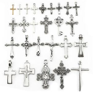 22401-26pcs-Antique-Vintage-Cross-Pendant-Charm-Diy-Jewelry-Marking