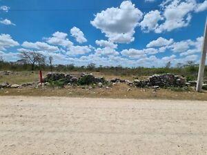 Se Vende terreno en Xcuyum cerca de Conkal