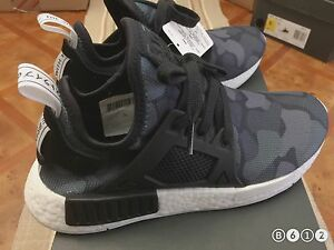 cheap for discount 60717 4e198 Image is loading Adidas-NMD-XR1-Core-Black-Duck-Camo-BA7231-