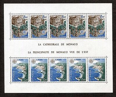 Monaco Block 12 Postfrisch Cept 1319-1320 Michel 30,00 € Mnh Ideales Geschenk FüR Alle Gelegenheiten Briefmarken