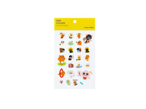 KAKAO-FRIENDS-MINI-STICKER-PLAY-WITH-FRIENDS-Character-Official-Goods-Cute
