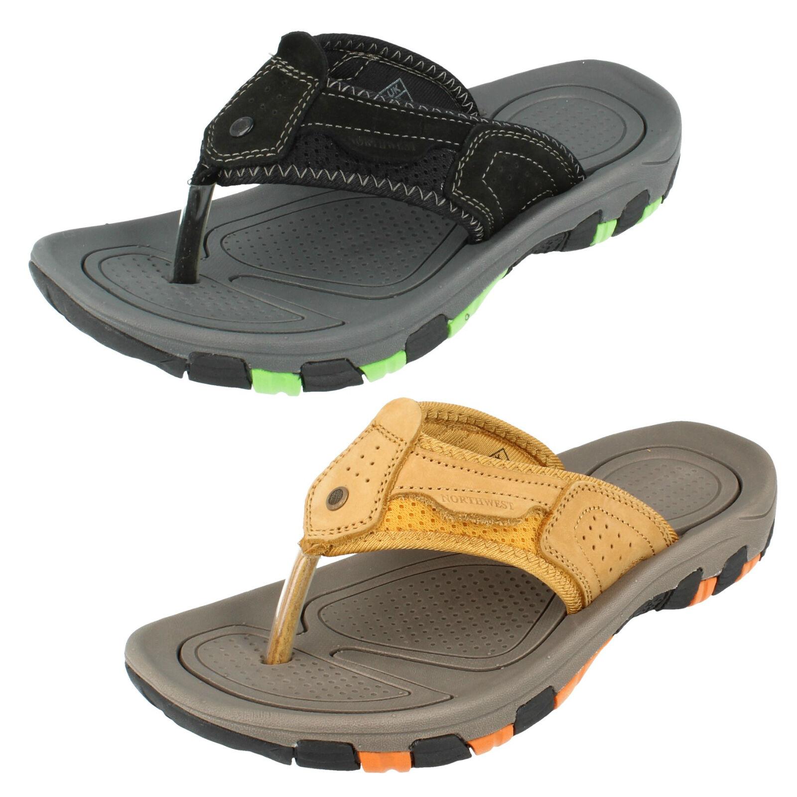 Uomo FIJI pelle sandali infradito da Northwest