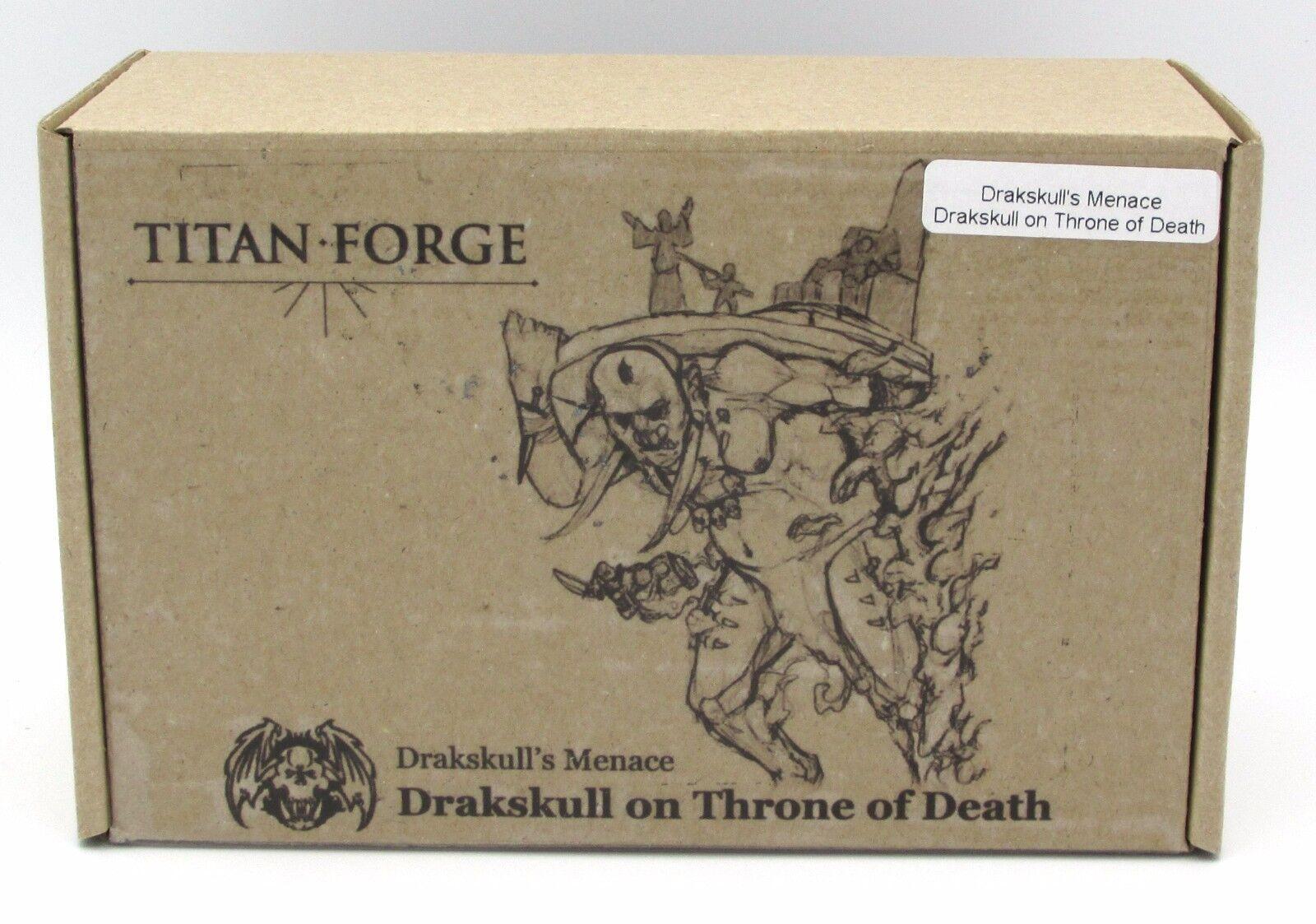 Titan - schmiede tfdm01 drakskull ist gefahr drakskull am thron des todes ork - magier nib