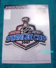 Official 2007 Stanley Cup Final Finals Anaheim Ducks vs Ottawa Senators Patch