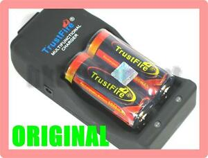 Trustfire-TR-006-Charger-2x-Rechargeable-26650-3-7v-5000-Protected-Battery