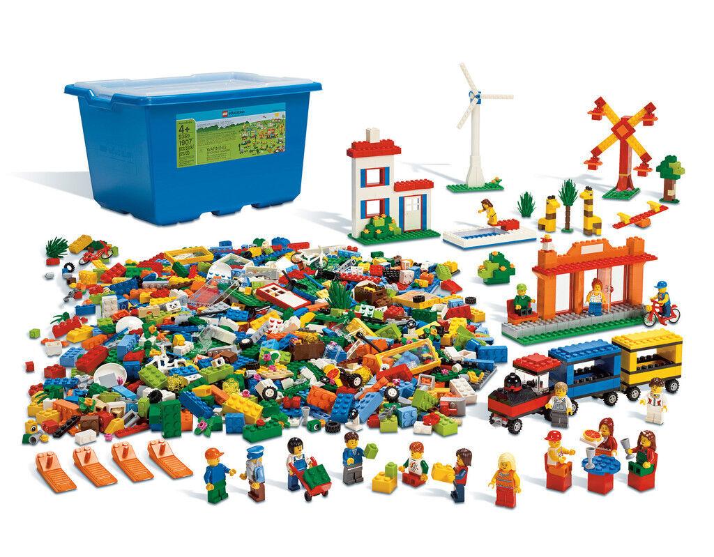 LEGO® Grund Grund Grund  und Bauelemente Set  9389 Kiga education Spezialelemente kreativ bd8160