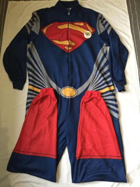 Superman Sleep Suit Size M/L