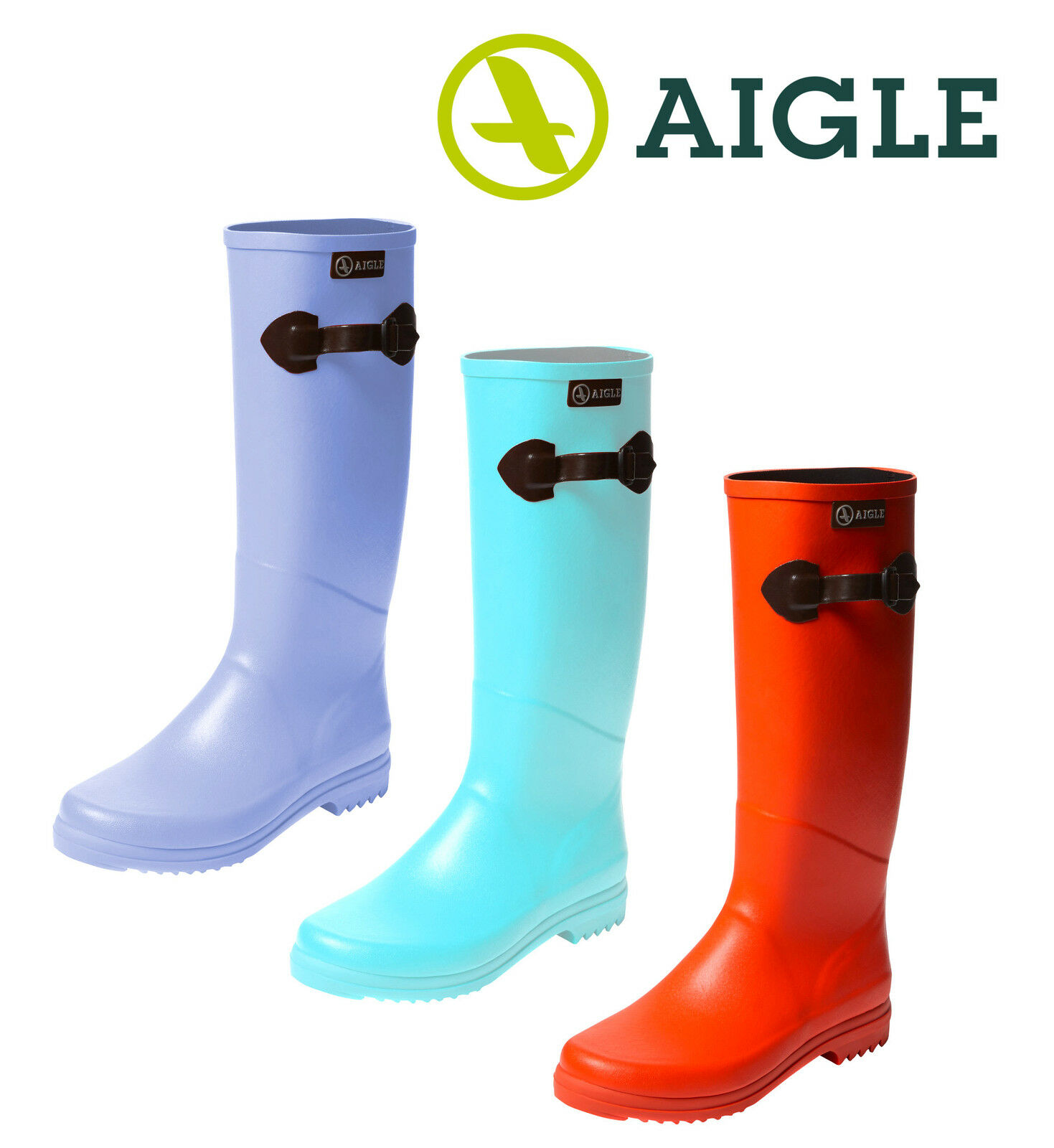 Aigle Chantebelle Pop Stiefel Gummistiefel Coole Farben Outdoor Herbst Geschenk