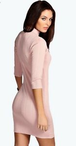 Tara-Turtle-Neck-Rib-Bodycon-Dress-AUS-UK-12-EUR-40-US-8-IT-44-SWE-36