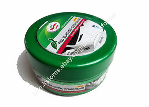 Bien Informé Turtle Wax Red Rubbing Compound Polish Restores All Heavily Faded Paintwork