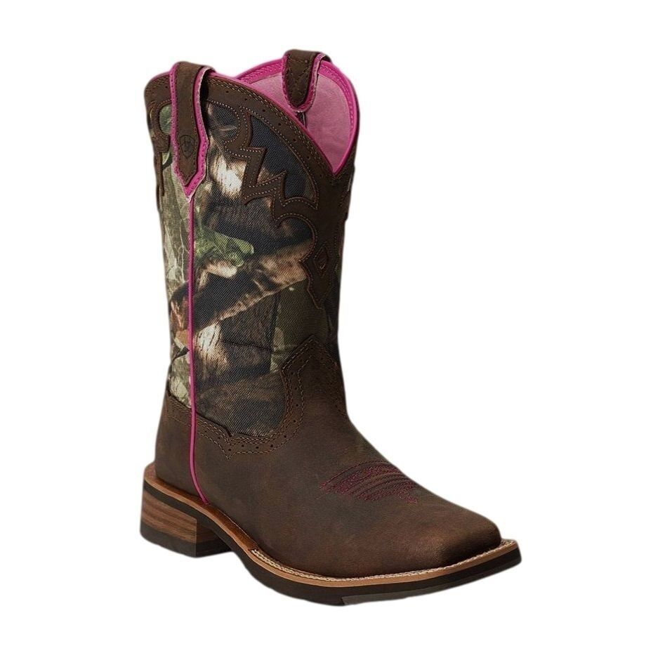 Ariat Ladies Unbridled Marronee  Camo stivali 10012828