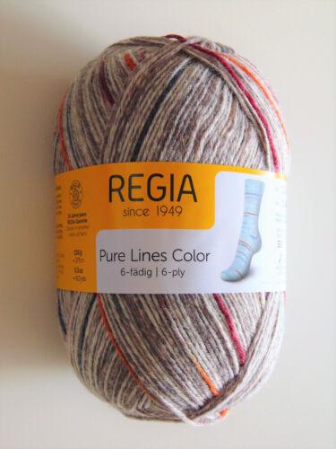 6-fädig Regia-pure lines color-Schachenmayr 150g-calcetines lana-Garn