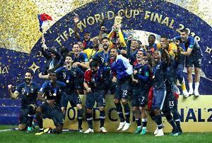 France coupe du monde vainqueurs 2018 a1 a2 a3 a4 affiche tirage photo ebay - Vainqueurs coupe du monde ...