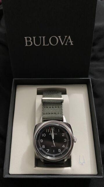 Bulova Military Watch 96B229/96B230