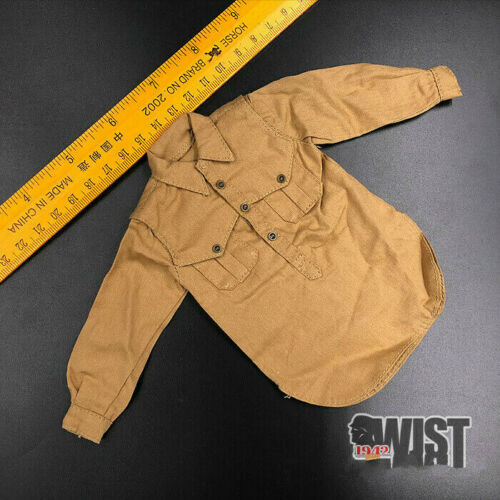 Shirt for  WWII German Soldier 1//6th Scale 12/'/' Action Figure