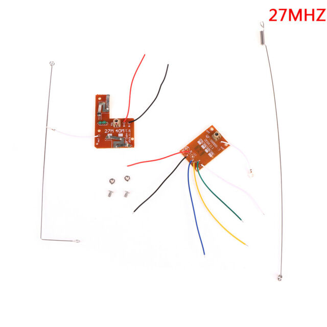 4CH 27MHZ remote control circuit board pcb transmitter receives antenna toys gl
