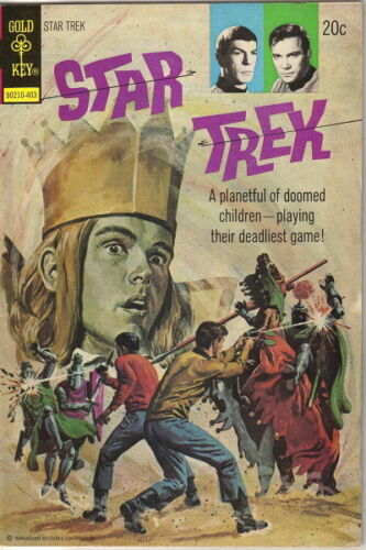 Star Trek Classic TV Series Comic Book #23, Gold Key Comics 1974 VERY FINE