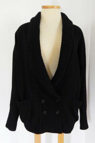 VF Diana Von Furstenberg Women's Black Wool Blend