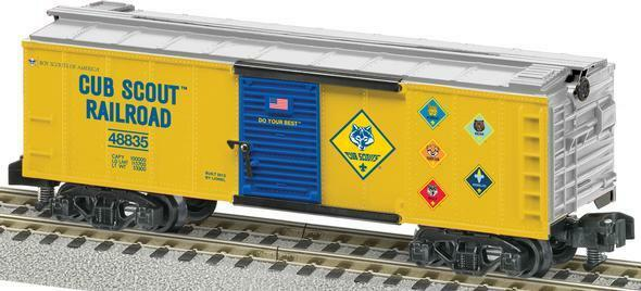 2014 lionel BSA 6-48835 Cub Scout Boxcar  American Flyer/S Gauge new