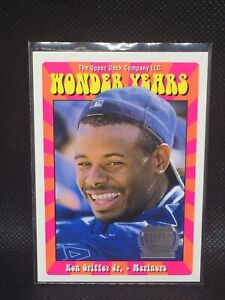 KEN GRIFFEY JR /2000 1998 UPPER DECK WONDER YEARS #WY10 PINK MINT