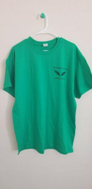 NEW RARE MUMFORD & SONS Concert Tour 2019 LOCAL CREW Green T-shirt Size XL