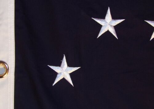 Details about  /HEAVY COTTON 2 FEET X 3 FEET GENERAL ROBERT E LEE HQ FLAG EMBROIDERED STARS