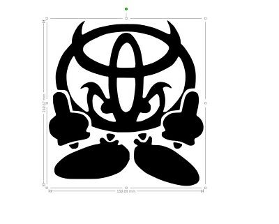 fox vinyl car sticker window oracal 651 decal