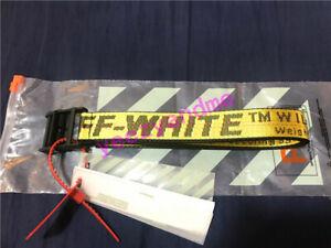 2019 Fashion OFF WHITE Tie Down Nylon Cotton IRON Head Industrial Belt 200cm