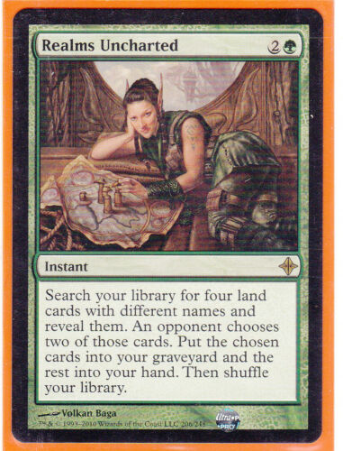 MTG Rise of the Eldrazi Rare Card   1 x  REALMS UNCHARTED   Never Played