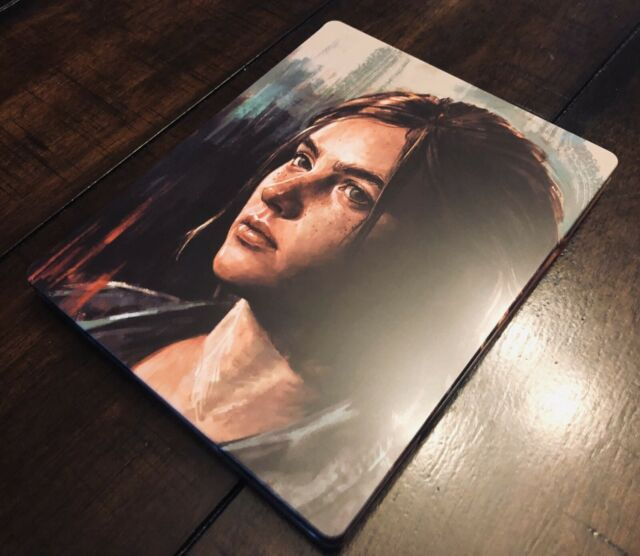 The Last Of Us Part II 2 Collector's Edition Steelbook Case (NO GAME) Ellie Abby