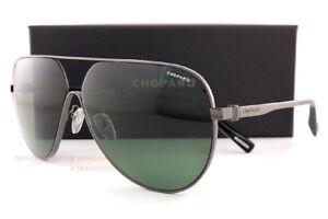 Brand New Chopard Sunglasses SCH C30 568Z Gunmetal Green For Men ... ab54bc015cc