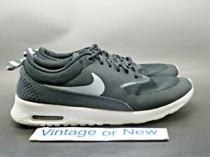 Details about Women's Nike Air Max Thea Black Wolf Grey Anthracite Running 806772 100 sz 8.5