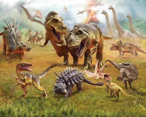 REX chambre enfant la fresque papier peint Dino 305x204 /< P Papier Peint Dinosaure Dinosaures T