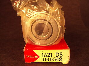 Nice 1621DSTN, 1621 DSTN, Precision Ground Radial Bearing